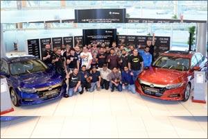 Al-Futtaim Honda hosts members of Honda UAE Club to celebrate launch of all-new Accord