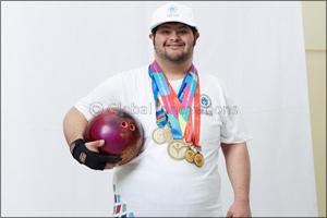 Emirati bowler Saleh Al Marri takes home gold at Abu Dhabi's Special Olympics IX MENA Games 2018