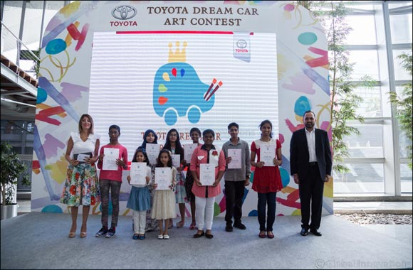International Toyota Dream Car Art Contest sees double the participation rates in its 4th UAE run