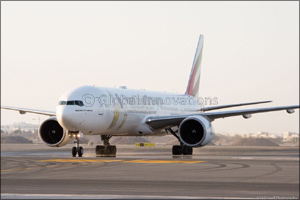 Emirates deploys special �Year of Zayed' aircraft to mark first international flight at new Muscat I ...