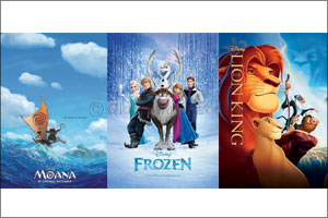 The first helipad cinema in Dubai to screen Disney classics, Frozen, Moana and The Lion King over it ...