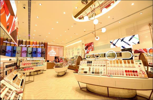 Korean beauty brand ETUDE HOUSE now open at Dubai Mall
