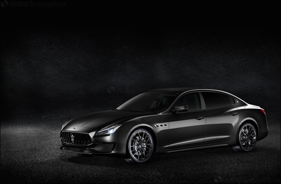 Special Edition Maserati Quattroporte GTS 'Nerissimo' arrive at Al Tayer Motors showrooms in the UAE