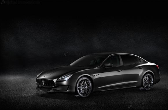 Special Edition Maserati Quattroporte GTS 'Nerissimo' arrive at Al Tayer Motors showrooms in the UAE