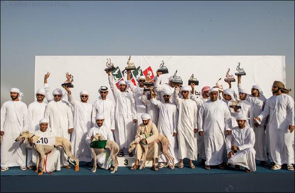 Sheikh Hamdan Bin Mohammed attends Saluki finals