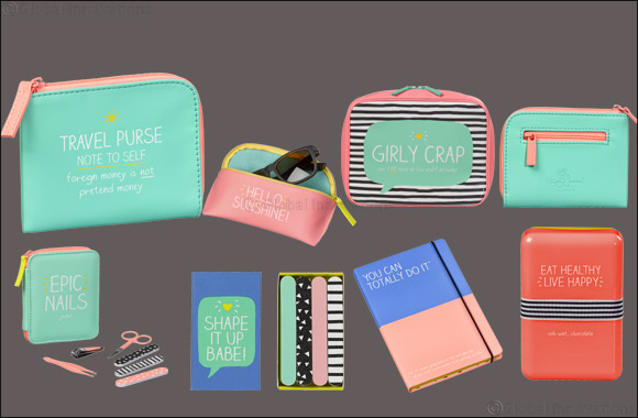 Welcome the new season with the spring/summer 2018 stationary and accessories collection From Happy Jackson