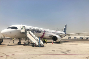 First Airbus A321LR completes hot weather tests at Sharjah International Airport