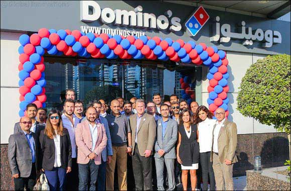 Domino's Pizza opens its Flagship Store in Dubai Marina