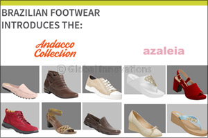 Brazillian Footwear introduces the Andacco and azaleia collection