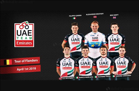 Kristoff Out to Cause Upset as UAE Team Emirates Announce Tour of Flanders Line-up
