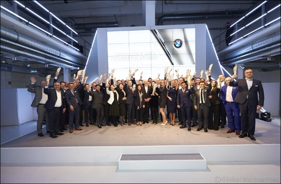 BMW celebrates its dealers with the Excellence in Sales Award