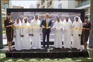 Etihad Airways Inaugurates Eco Residence for Cabin Crew in Masdar City Abu Dhabi