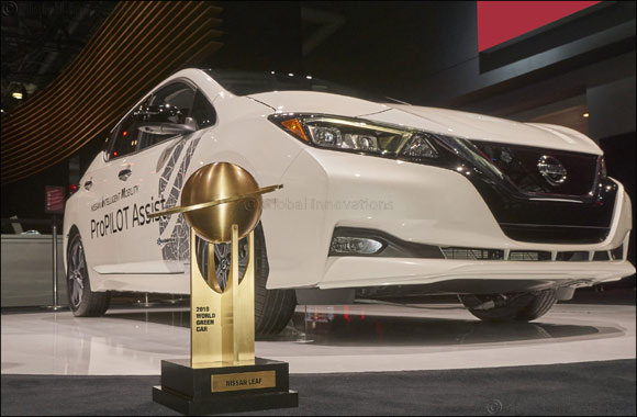 All-New 2018 Nissan LEAF Named '2018 World Green Car of the Year'