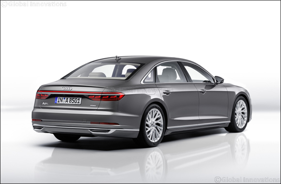 "The Audi A8 is the ""World Luxury Car 2018"""
