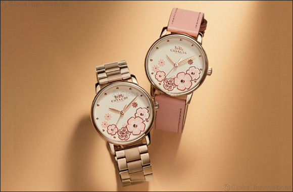 Coach presents the Grand Tea Rose Collection