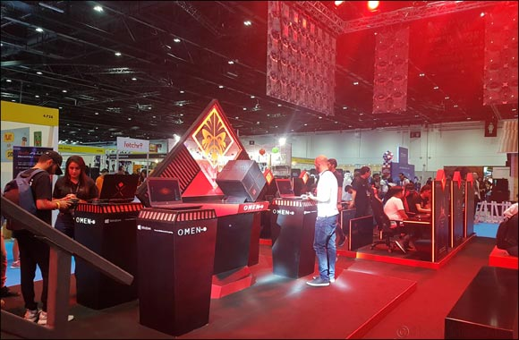 HP Hosts Packed Gaming Festivities and Showcases OMEN Lineup at MEFCC