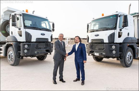 Al Tayer Motors Launches New Ford Trucks 6x4 Tractor Head series