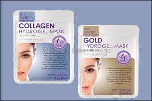 Stay healthy & hydrated  with Skin Republic Hydrogel Masks