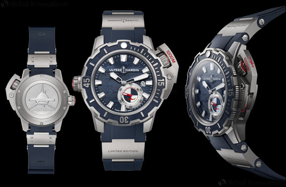 Ulysse Nardin plunges 1,000 metres underwater and Freaks Out