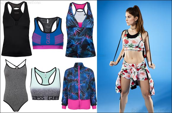 Social Media Star, Amanda Cerny Is the New Face of the  Guess SS18 Activewear Collection
