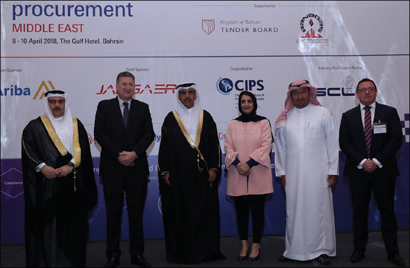 His Excellency Eng. Basim Bin Yacob Alhamer opens 2nd edition of Procurement Middle East Conference