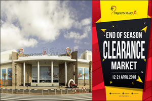 Get the best bargains at Dragon Mart's End of Season Clearance Market
