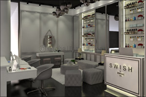 New Blow Out Bar and Make-Up Studio SWISH by Immaclife Opens in Abu Dhabi in April 2018 and offers c ...