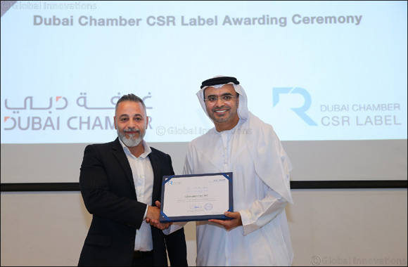 InfoFort awarded the Dubai Chamber CSR Label