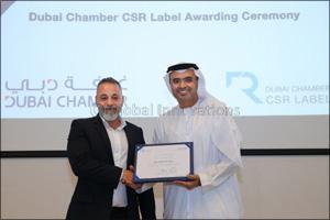 InfoFort awarded the Dubai Chamber CSR Label