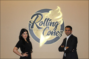 Rolling Cones, a new luxury ice cream concept, launches at the Hyatt Regency Dubai Creek Heights