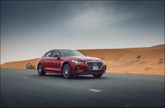 Genesis G70 Luxury Sedan Arrives in Middle East