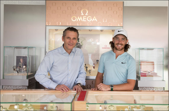 Tommy Fleetwood joins OMEGA's line-up of golfing greats