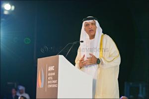 Ras Al Khaimah (RAK) Ruler Delivers Keynote Opening Speech to 14th Arabian Hotel Investment Conferen ...