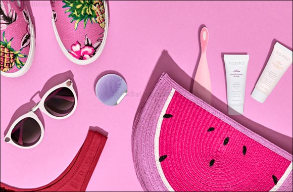 FOREO delivers the ultimate festival survival kit  for a glow-on-the-go.