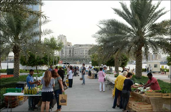 Organic Souk at Dubai Festival City Now at a New Time
