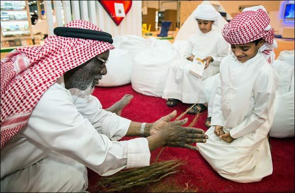Hamdan Bin Mohammed Heritage Center Participates at Abu Dhabi International Book Fair