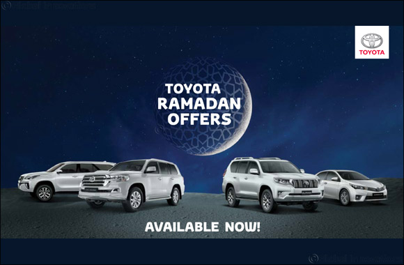 Ramadan starts early this year at Al-Futtaim Toyota showrooms