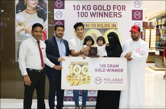 Malabar Gold & Diamonds - Gold Rush - Hanan Nawaf Winner