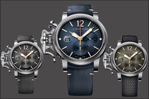 Big Time with Graham Chronofighter Grand Vintage