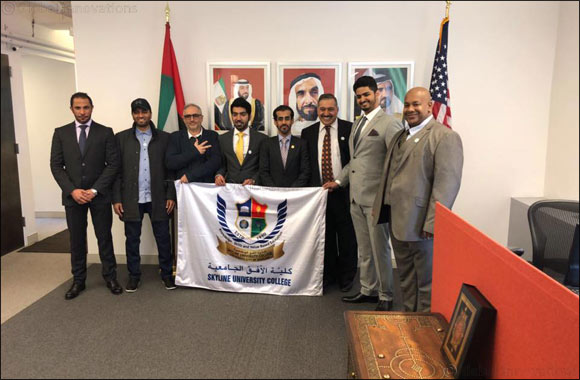 Skyline University College Students Attended 3-Day Training Program in New York