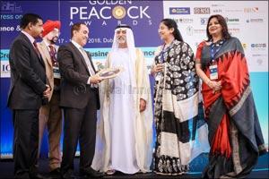 Ambassador School wins Golden Peacock global award for innovative service