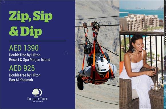 DoubleTree by Hilton Resort & Spa Marjan Island and DoubleTree by Hilton Ras Al Khaimah launch Zip, Sip, Dip promotion