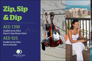 DoubleTree by Hilton Resort & Spa Marjan Island and DoubleTree by Hilton Ras Al Khaimah launch Zip,  ...