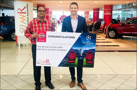 Arabian Automobiles Announces Winners of Nissan's 'Test Drive Carnival'