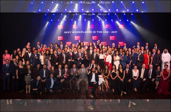 Great Place to Work® reveals UAE's  'Best 25 Workplaces'
