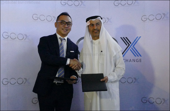 GCOX signs MOU with His Highness Sheikh Khaled Bin Zayed Al Nahyan to expand global celebrity token footprint to the  Middle East