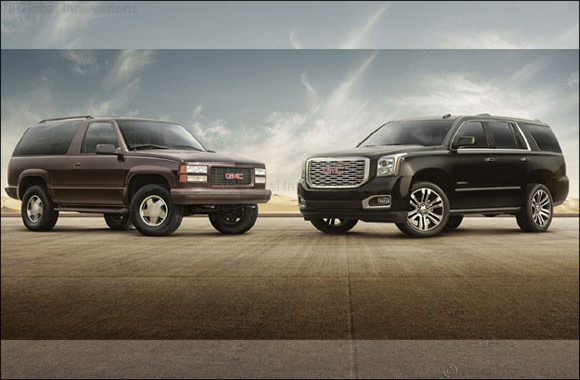 GMC marks Yukon's 25th anniversary with limited-edition model in the Middle East