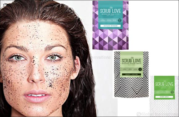 "UK's organic and natural coffee scrub brand ""Scrub Love"" makes its way to the UAE"