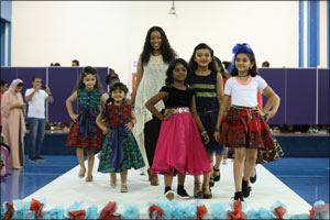Capital School Hosted the First Multi-Brand Kids Fashion Show in Dubai