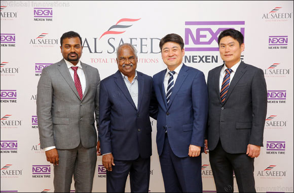 NEXEN TIRE partners with Al Saeedi Group